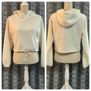 wild fable Tops - Hooded Sherpa Sweatshirt Wild Fable Small …